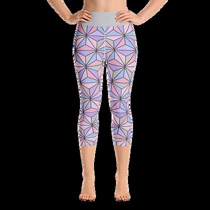 Imagination Yoga Capris - Purple