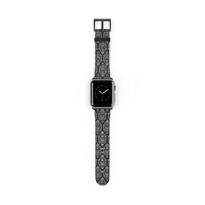 Happy Haunts Apple Watch Band - Black
