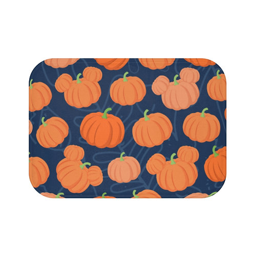 Pumpkin Patch Floor Mat - Navy
