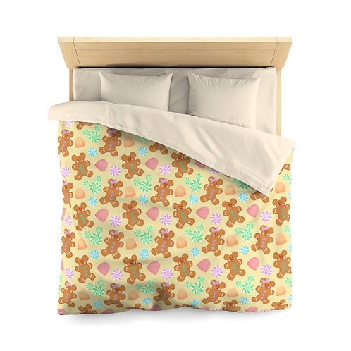 Gingerbread Duvet Cover - Yellow