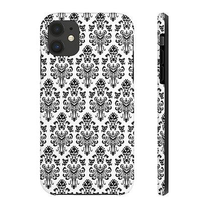 Happy Haunts Tough iPhone Case - White