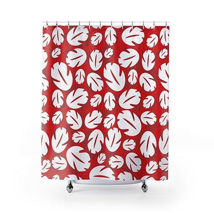 Ohana Shower Curtains - Red