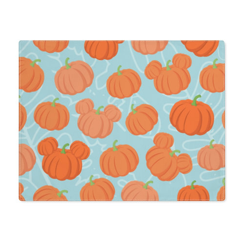 Pumpkin Patch Placemat - Teal