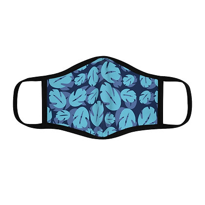 Ohana Fitted Face Mask - Blue