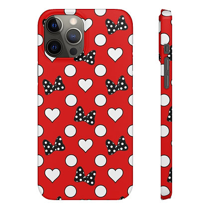Rock Your Dots Phone Case - Red