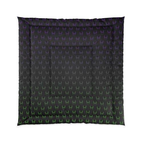 Wicked Comforter - Purple/Green