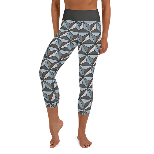 Imagination Yoga Capris - Silver