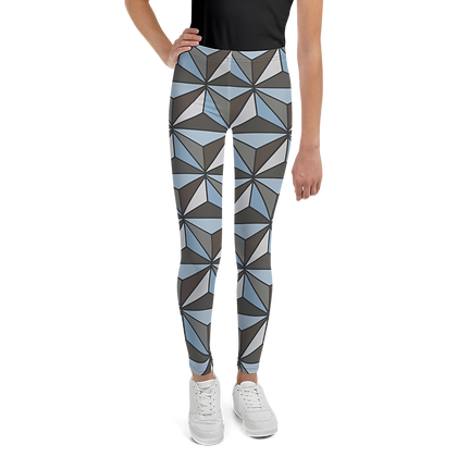 Imagination Youth Leggings - Silver