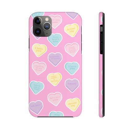 Candy Hearts Tough iPhone Case