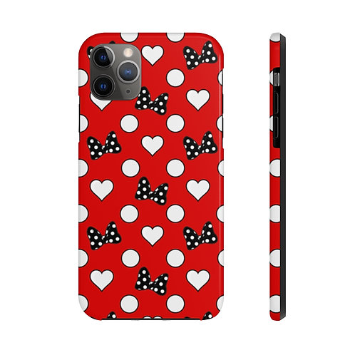 Rock Your Dots Tough iPhone Case - Red