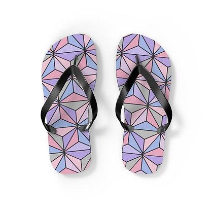 Imagination Flip Flops - Purple