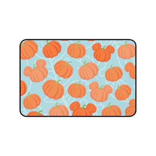 Pumpkin Patch Desk Mat - Teal