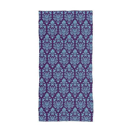 Happy Haunts Beach Towel - Purple