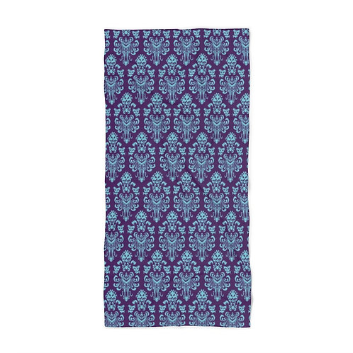 Happy Haunts Beach Towel - Purple