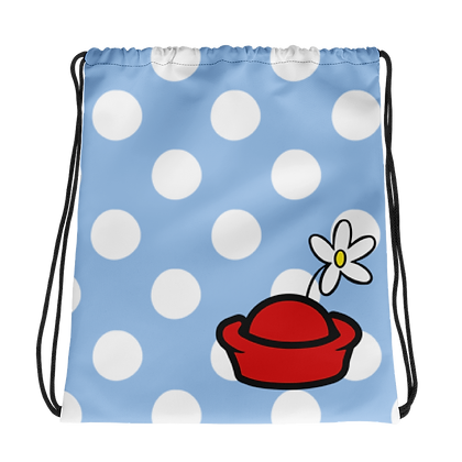 Classic Dot Drawstring Bag