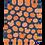Thumbnail: Pumpkin Patch Plush Blanket - Navy