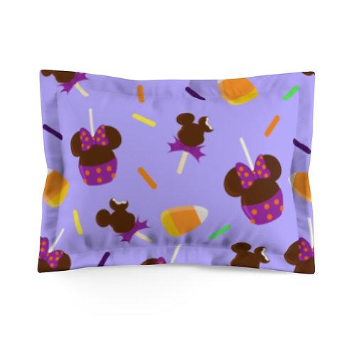 Trick or Treats Pillow Sham - Purple