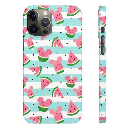 Summer Melon Phone Case - Blue