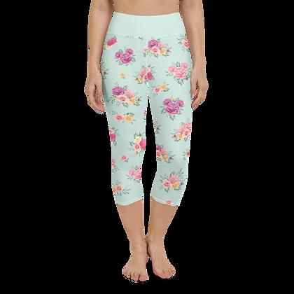 Flower & Garden Yoga Capris