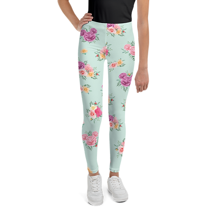 Flower & Garden Youth Leggings