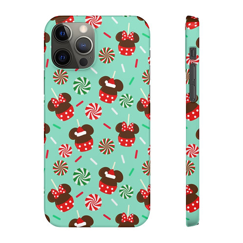 Christmas Candy Phone Case - Green