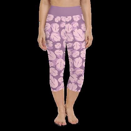 Ohana Yoga Capris - Pink