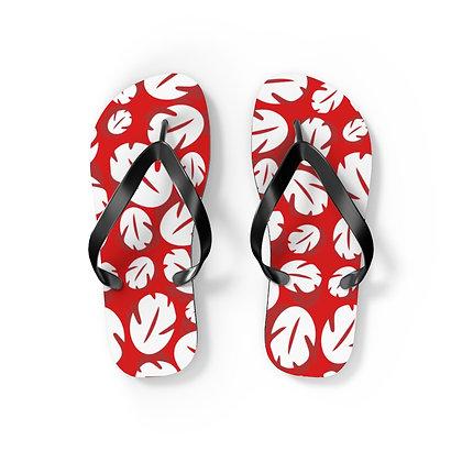 Ohana Flip Flops - Red