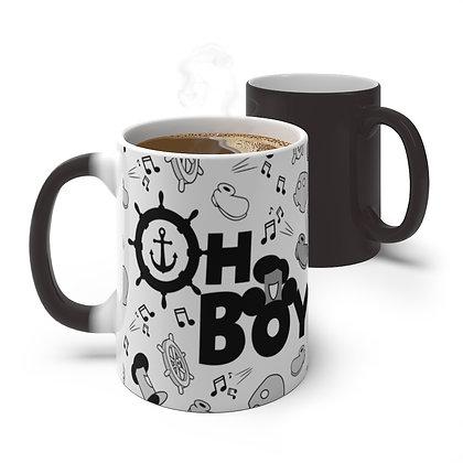 Oh Boy! Color Changing Mug