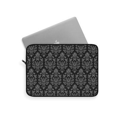 Happy Haunts Laptop Sleeve - Black