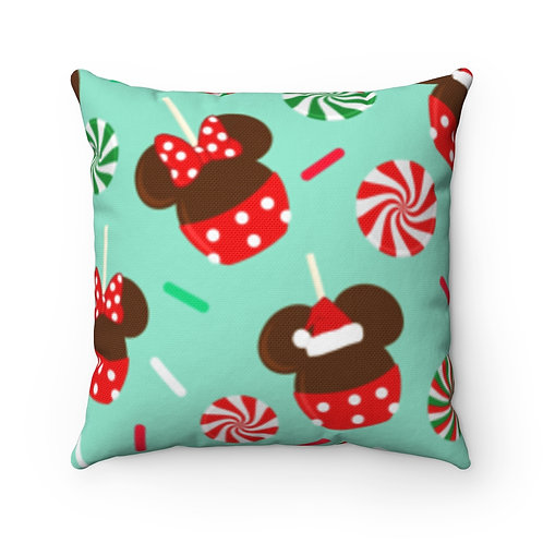 Christmas Candy Pillow Case - Green