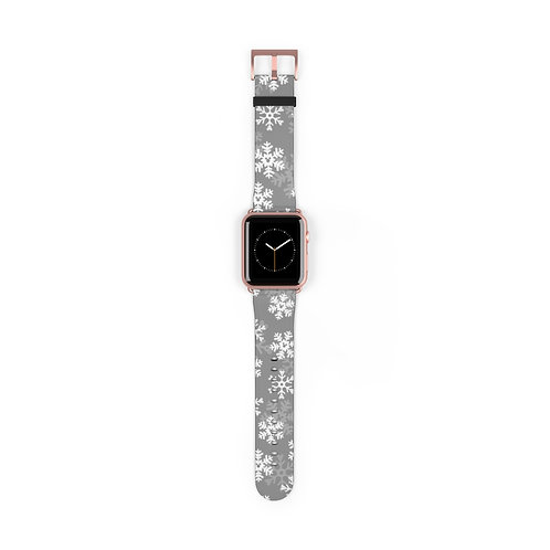 Snoap Flakes Apple Watch Band - Gray