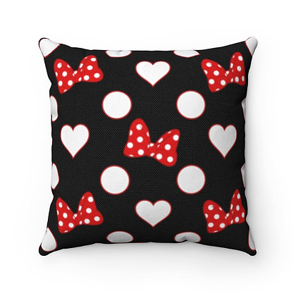 Rock Your Dots Pillow Case - Black