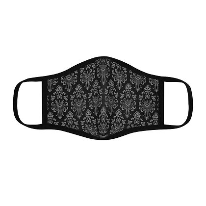 Happy Haunts Fitted Face Mask - Black