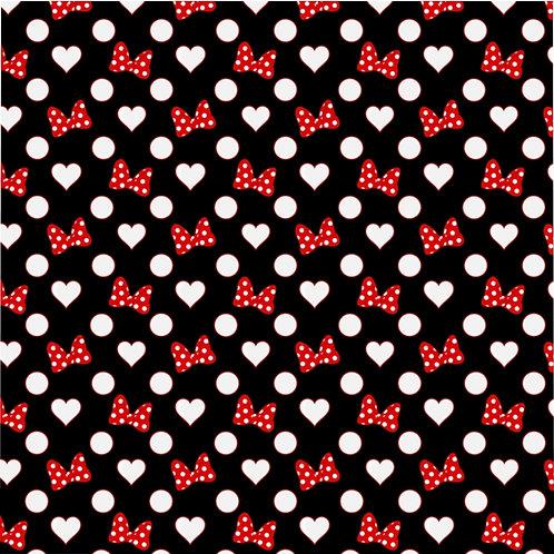 Rock Your Dots Duvet Cover - Black