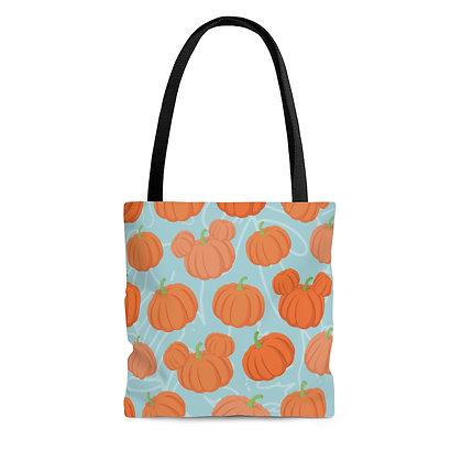 Pumpkin Patch Tote Bag - Teal