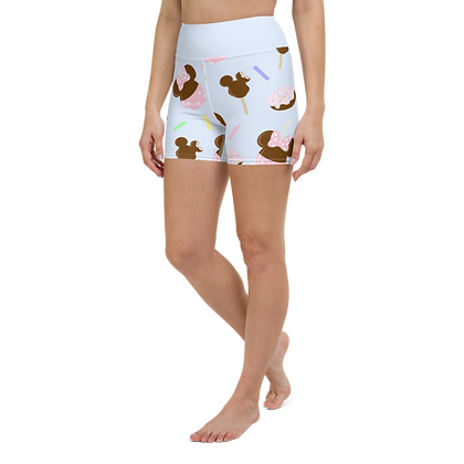 Couture Candy Yoga Shorts