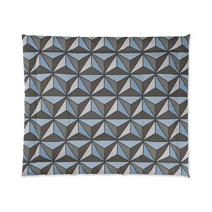 Imagination Comforter - Silver
