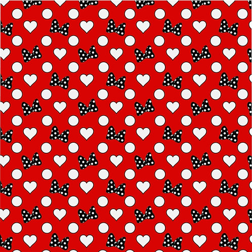 Rock Your Dots Duvet Cover - Red