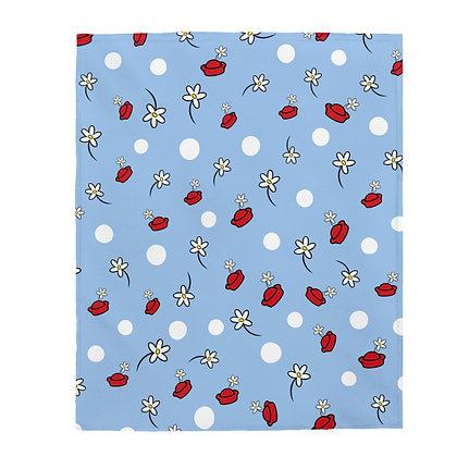 Classic Dot Plush Blanket