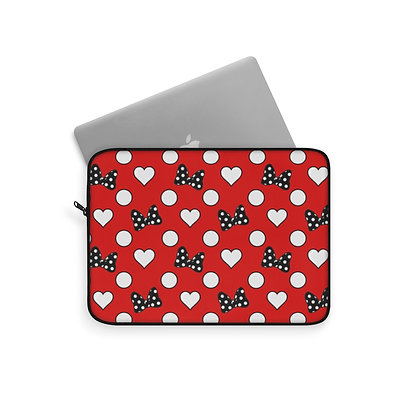 Rock Your Dots Laptop Sleeve - Red