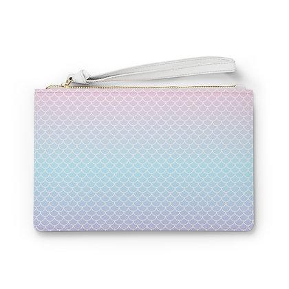 Mermaid Pink Clutch Bag