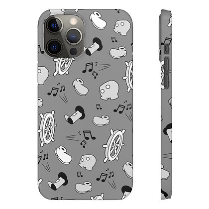 Steamboat Phone Case - Classic Gray