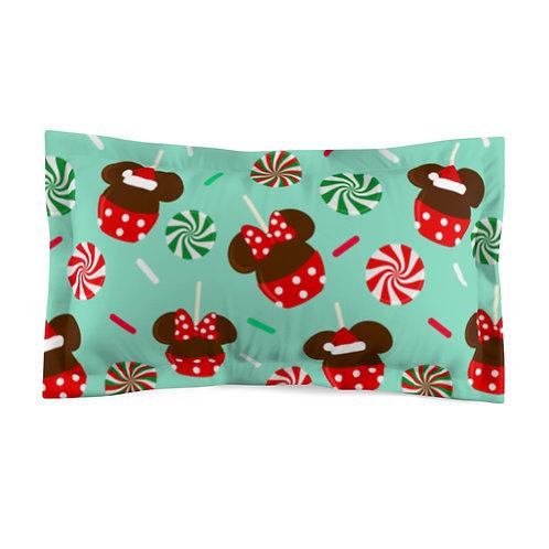 Christmas Candy Pillow Sham - Green