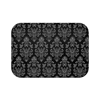 Happy Haunts Floor Mat - Black