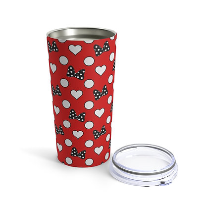 Rock Your Dots 20oz Tumbler - Red
