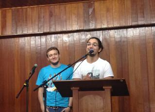 Batismo do Felipe Ribeiro