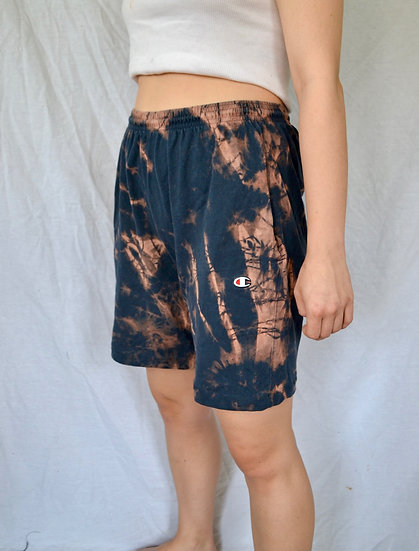 Hand-Dyed Champion Shorts - L