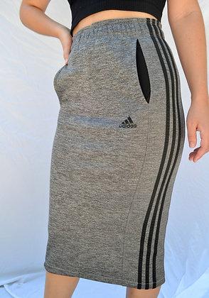 Reworked Adidas Midi-Skirt