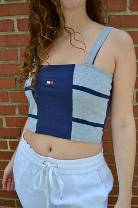 Reworked Tommy Square-Neck Tank