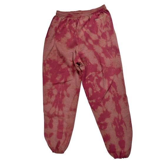 Hand-Dyed Champion Sweatpants - L